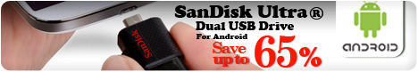 Save Up to 65% - SanDisk Ultra USB Drive for Andriod