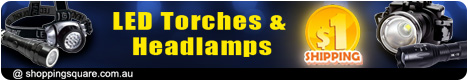LED Torches & Headlamps Sale