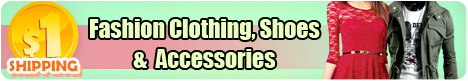 $1 shipping for fashion clothing, shoes &  Accessories style 2