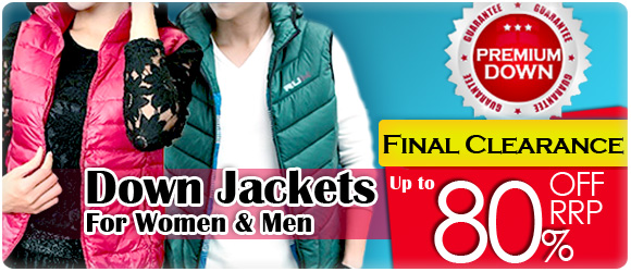 Down Jacket Clearance-up to 80% OFF RRP