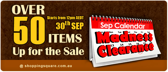 September Madness Clearance 2014