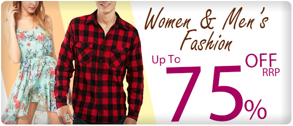Save Up to 75% OFF Women's and Men's Fashion  With Shipping from $1 at ShoppingSquare.com.au