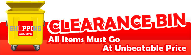 Clearance Bin Online ShoppingSquare.com.au Online Shopping