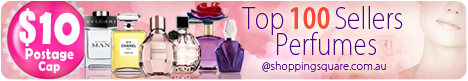 Top 100 Sellers Perfumes with $10 Shipping Cap