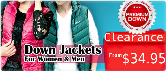 New Arrivals - Down Jackets
