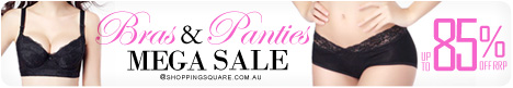 Bras and Panties MEGA Sale - Up to 85% Off RRP
