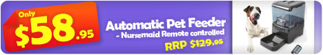 Automatic Pet Feeder $58.95