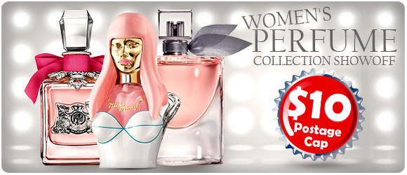 Women's Perfumes Collection Showoff - $10 Shipping Cap