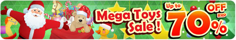 Mega Toys Sale - Christmas
