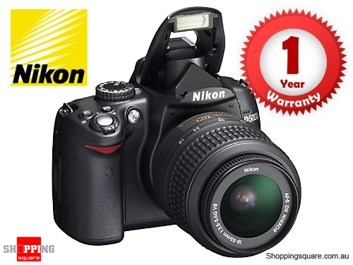 Nikon D5000 Kit (18-55mm&55-200m VR) Digital SLR Camera