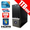 APUS Intel i7-2600 3.4GHz Budget Desktop PC 1TB 8GB USB 3.0
