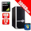 APUS AMD Sempron 145 2.8GHz Budget Office and Home Desktop PC