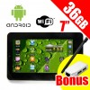 "7"" Android Touch Screen Tablet PC 36GB* WiFi - BONUS Touch Stylus, USB/LAN Adapter"