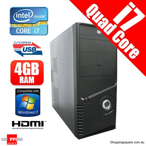 INTEL CORE i7 3770K 3.5Ghz Budget Office and Home Desktop PC