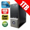 Intel I5-3470,3.2GHZ, 6MB CACHE/ LGA1155 - 8GB - 1TB - DVDRW - Card Reader - Bluetooth