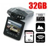 HD Portable Dash DVR Car Video Vehicle Camera Bundle 32GB SD CARD