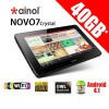 Novo7 Crystal 7 Inch Tablet PC Android 4.1 Quad core 40GB (8GB + 32GB MicroSDHC)