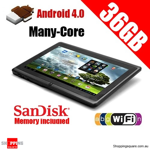 7 inch 36GB Android 4.1.1 Many-Core Multi-Touch Tablet PC WiFi