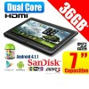 36GB Dual Core Android 4.1.1 Jelly Bean 7inch Tablet PC WiFi