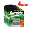 16x (4x Pack of 4) Rechargeable Energizer AAA Battery Bundle