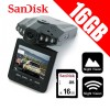 1080P HD Portable Dash DVR Car Video Vehicle Camera Bundle Sandisk 16GB SD Card