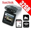 1080 HD Portable Dash DVR Car Video Vehicle Camera Bundle 32GB SD CARD