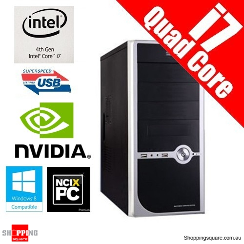 Apus Budget System Package Intel Core i7 4770 3.40GHz 1TB 8GB USB 3.0