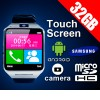 32GB Touch Screen Android Smart Phone Wrist Watch With Camera