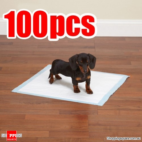 100 pcs 45 X 60cm Puppy Dog Pet Toilet Training Pads