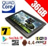 36GB - 7inch Quad Core Android 4.4 Tablet PC WiFi Black