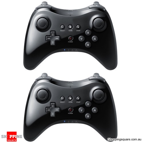 2x Wireless Controller Pad for Nintendo Wii U
