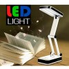 LED Foldable Rechargeable Desk Lamp LED-666S White Colour with SAA Power Cord