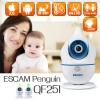 ESCAM Penguin QF521 720P WiFi Baby Monitor IP Camera with Thermometer Hygrometer