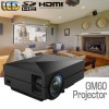 GM60 Portable Mini 1000LM 800x480 LED LCD Home Theater Projector Supported 1080P HD