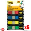 3M Post-it Mini Colour Flags 9.9mm x 43.7mm 6 pack