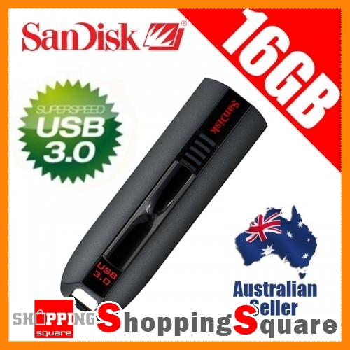 SanDisk-Extreme-16GB-CZ80-USB-3-0-Flash-Drive-Memory-Stick-Thumb-Disk-Key-16G