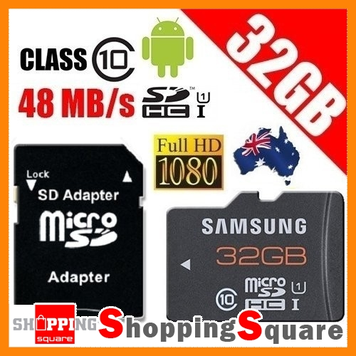 Samsung-Micro-SDHC-32GB-Class-10-24MB-s-SD-Full-HD-Video-32G-Memory-Card