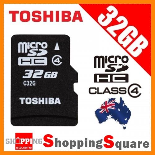 Toshiba-32GB-Micro-SD-SDHC-Memory-card-TF-32G-Class-4