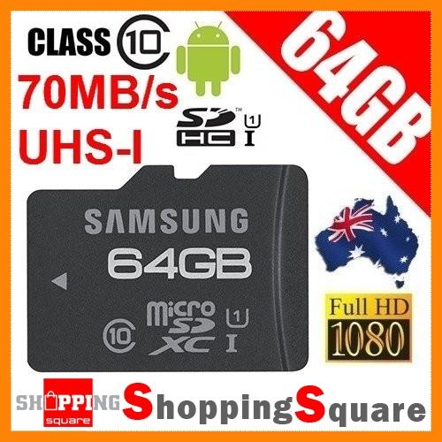Samsung-64GB-Pro-MicroSDXC-UHS-1-Card-Class-10-70Mb-s-Speed