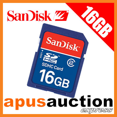 SanDisk-16GB-SD-Card-Secure-Digital-16-GB-HC-SDHC-16G-G-New-Memory