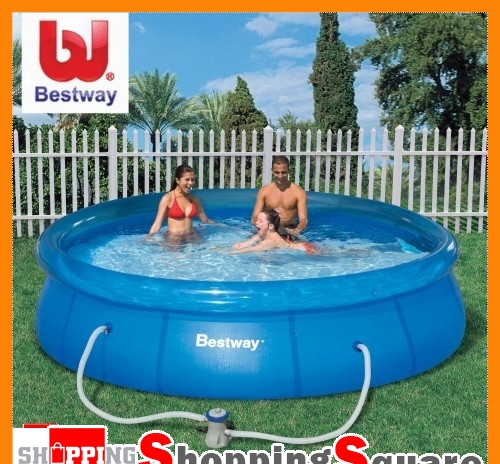 Bestway-12FT-Inflatable-Swimming-Pool-Set-Filter-Pump-366-x-76cm