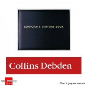 Collins Debden 192 Page Corporate Visitors Book 260mm X 203mm