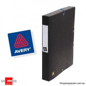Avery Heavy Duty Euro 40mm Box - Black
