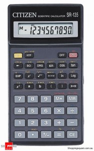 Citizen SR-135T Scientific Calculator