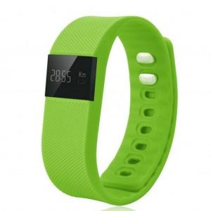 TW64 Bluetooth 4.0 Smart Wristband Sports Activity Tracker Green Colour