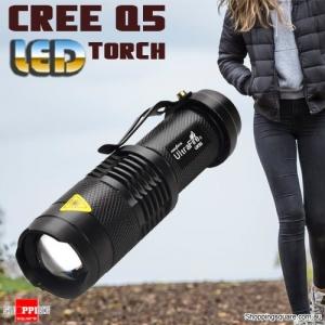 Ultrafire UK68 Cree Q5 300LM Zoomable Waterproof LED Flashlight