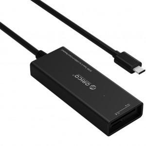ORICO CH3SF-BK Type C to USB 3.0 Hub w/USB SD micro SD Card Reader