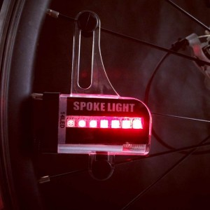 Waterproof LED Spoke Lights for Bicycles