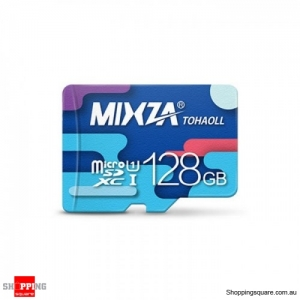 MIXZA TOHAOLL Colorful Series Micro SD TF Card UHS-I 80MB/s - 128GB