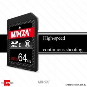 MIXZA SD Card MSDC10 - U1  Camera Memory Card -64 GB